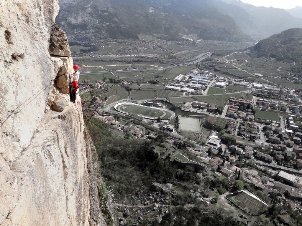 Klettersteig Arco : Klettern und klettersteig am gardasee in arco italien