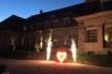 Hochzeit Bogenschießen Lichterbild Herz