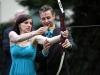 Hochzeitsspiele und Hochzeitsideen mit Bogenschießen