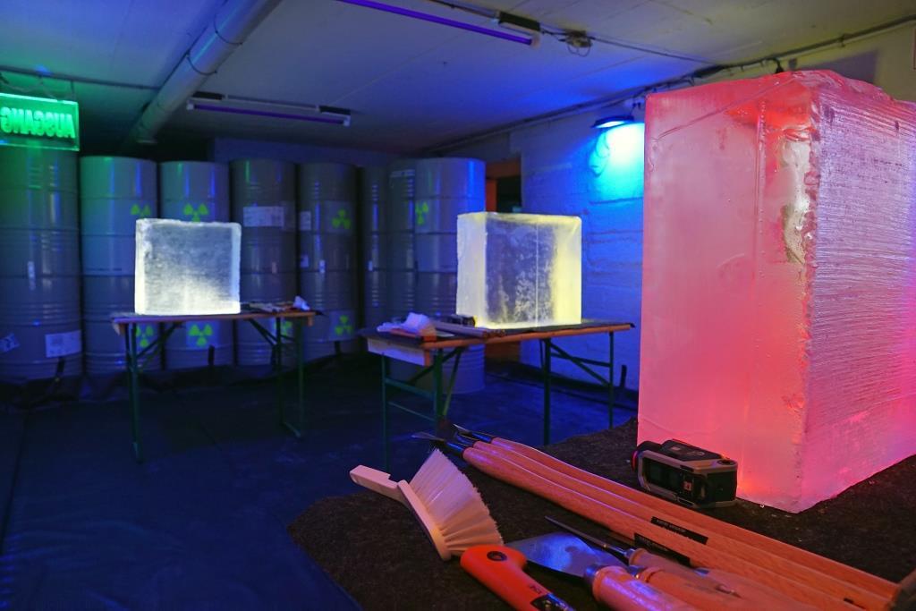 Bunker Teamevent Berlin Eisschnitzen 01