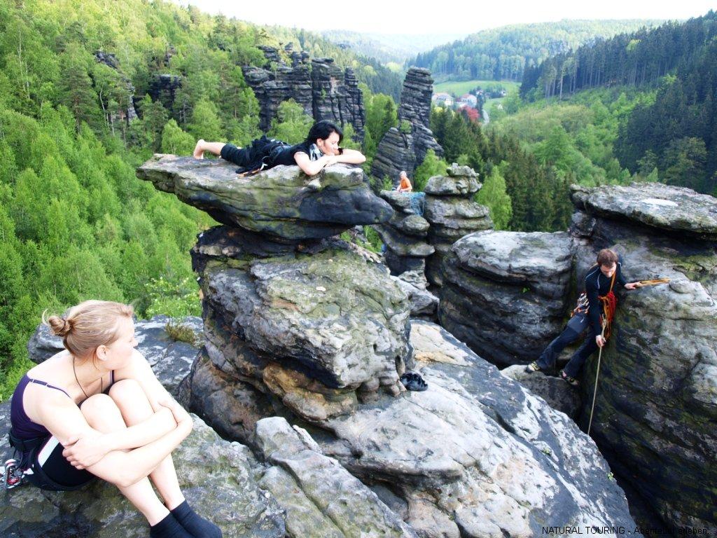 Elbsandsteingebirge Klettern
