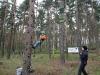 Monkeyklettern statt Kistenklettern auf Krämerwaldfest 2013