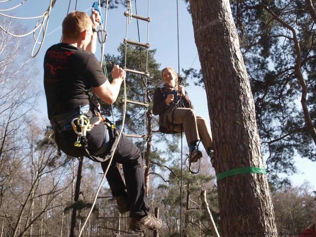 flyingfoxbau - bauen sie ihre eigene seilbahn   natural touring
