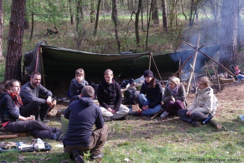 Survivalkurs Überlebenstraining in Berlin Brandenburg