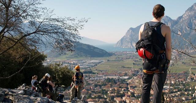 Gardasee Italien Baden Klettern Klettersteig Outdoor Event