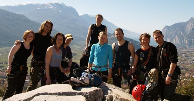 Klettersteig Klettern Gardasee Italien Bouldern Schwimmen
