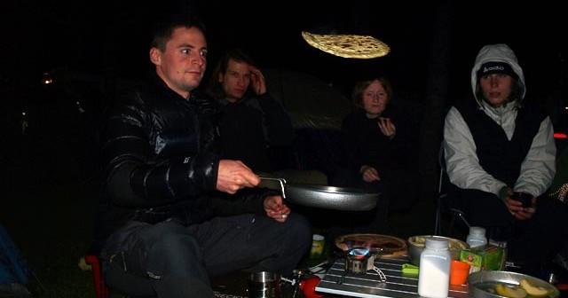 Outdoorkochkurs kochen Feuer Kocher