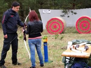 Bogenschießen auf Krämerwaldfest 2013