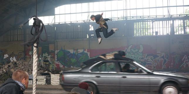 Actionevent Stunttraining Junggesellenabschied Temevent Betriebsausflug Berlin Abseilen Stuntworkshop