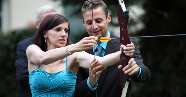 Bogenschießen Hochzeit Berlin Event