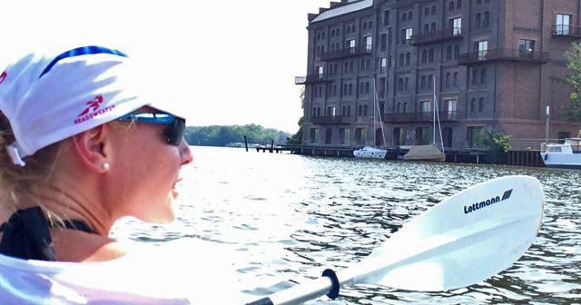 Paddeln Berlin Spree Betriebsauflug Teamevent Rummelsburger Bucht Schatzsuche