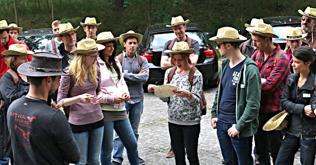 Indiana Jones Teamevent Betriebsausflug Berlin Abenteuer Brandenburg Superheld Action