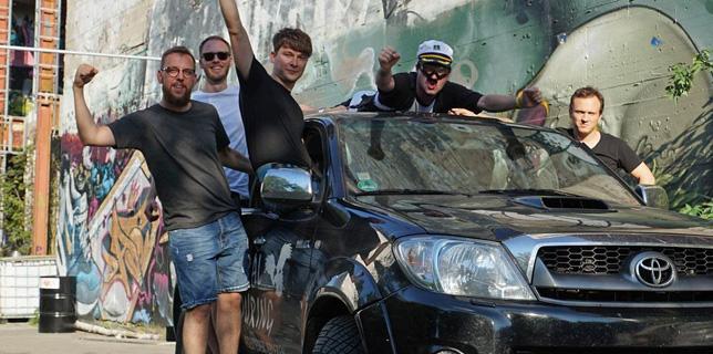 Junggesellenabschied Berlin Stunts Action Abseilen Teufelsberg Stuntworkshop Stunttraining Bodystunts